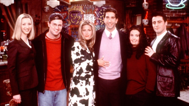 A Friends reunion show is rumoured to be under discussion, according to the Hollywood Reporter