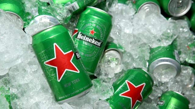 Heineken plastic