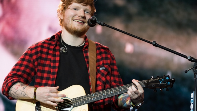 Ed Sheeran had hoped that the heart-shaped pond, which sits in the grounds of his four-property estate, could be used for swimming
