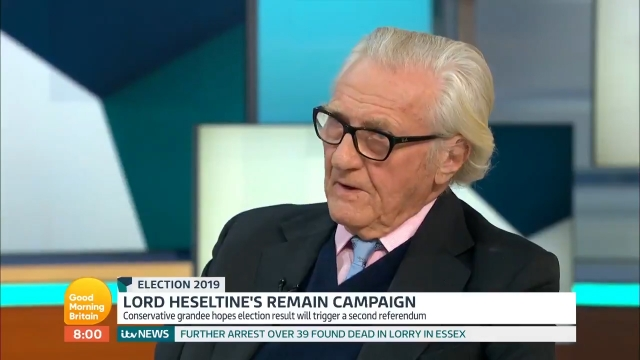 Lord Heseltine is turning his back on the Conservatives