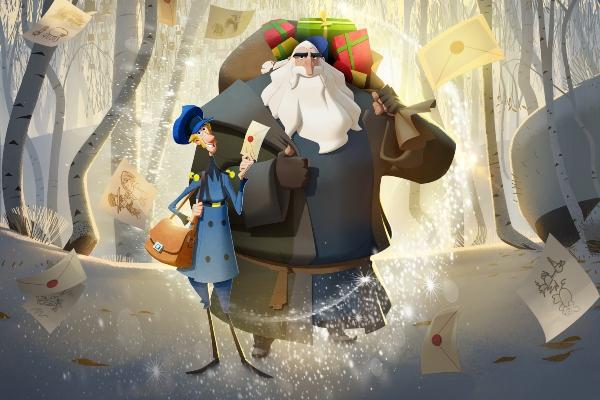 key art from spanish animation klaus