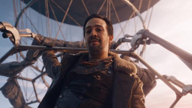 Lin-Manuel Miranda as Lee Scoresby in His Dark Materials
