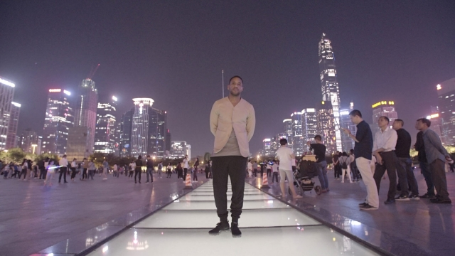 Reggie Yates was an engaging guide in a fascinating journey through China's 'city of the future'