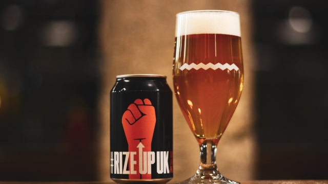 The beer has been produced in collaboration with Drygate (Photo: Rize Up)