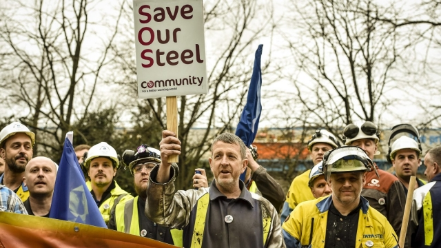 Article thumbnail: Back in 2016, Tata Steel made a commitment to secure the future of Britain's Port Talbot following months of uncertainty for its workers (Photo by Ben Birchall - WPA Pool/Getty Images)