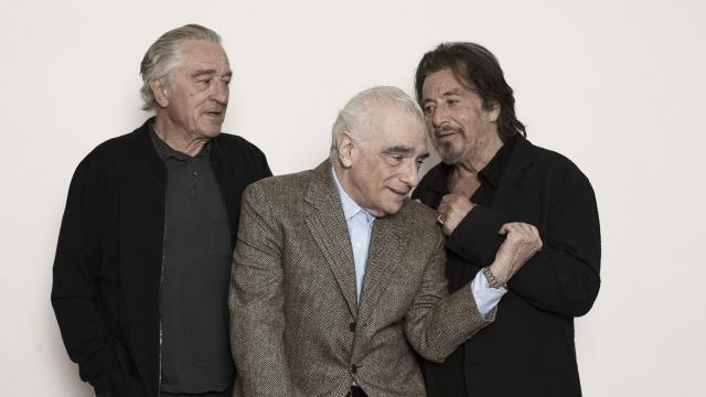 Al Pacino, Martin Scorsese and Robert De Niro unite on one of the films of the year (Photo: Victoria Will/Invision/AP)