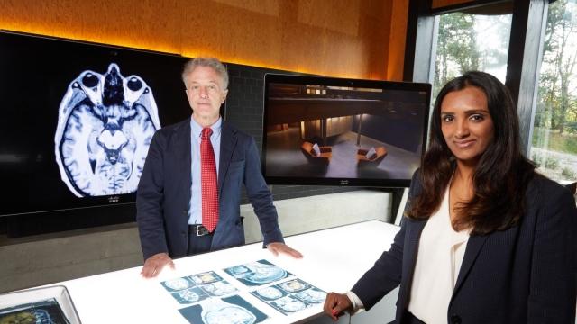 Neuro-criminologist Professor Adrian Raine and forensic psychologist Dr. Vicky Thakordas-Desai