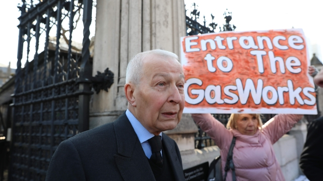 Frank Field in Downing Street earlier this year. After sitting in the Commons as Birkenhead's Labour MP since 1979, he resigned the party whip last year, and is standing as an independent in the constituency this year