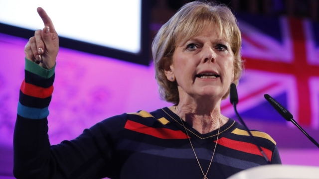 Anna Soubry was targeted with death threats