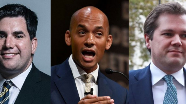 Labour's Richard Burgon, Lib Dems' Chuka Umunna and Conservatives' Robert Jenrick will feature on tonight's Question Time (Photo: Getty/PA/Parliament)