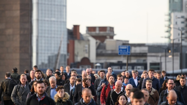 The number of people in employment dipped slightly (Photo: Leon Neal/Getty Images)