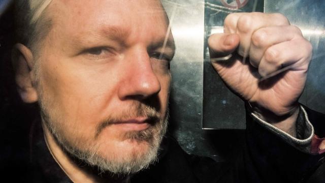 WikiLeaks founder Julian Assange is in Belmarsh Prison