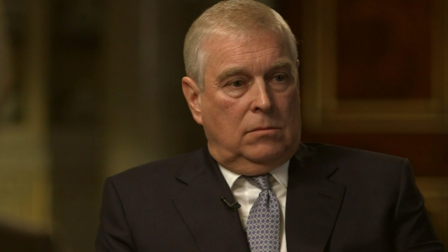 Prince Andrew denied any wrongdoing
