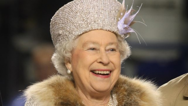The Queen has worn fur throughout her 67-year reign, including this tour to Slovakia in 2008