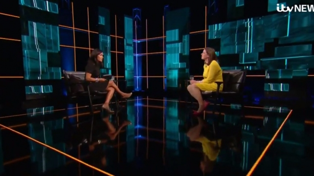 Jo Swinson took part in an election interview on ITV