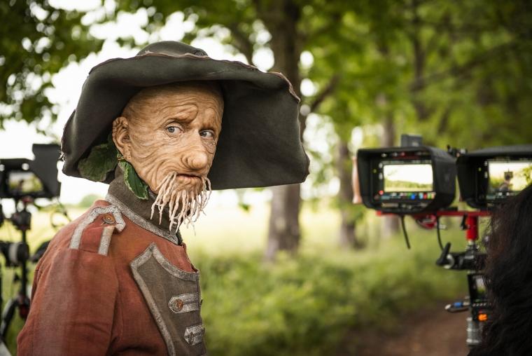 Mackenzie Crook as Worzel Gummidge (Photo: Leopard Pictures/Matt Burlem)