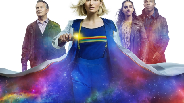 Doctor Who returns for a 12th series on New Years Day. Picture shows Graham (BRADLEY WALSH), The Doctor (JODIE WHITTAKER), Yaz (MANDIP GILL), Ryan (TOSIN COLE)