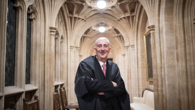 Article thumbnail: Sir Lindsay Hoyle was elected the new Speaker following John Bercow's departure after a decade in the position
