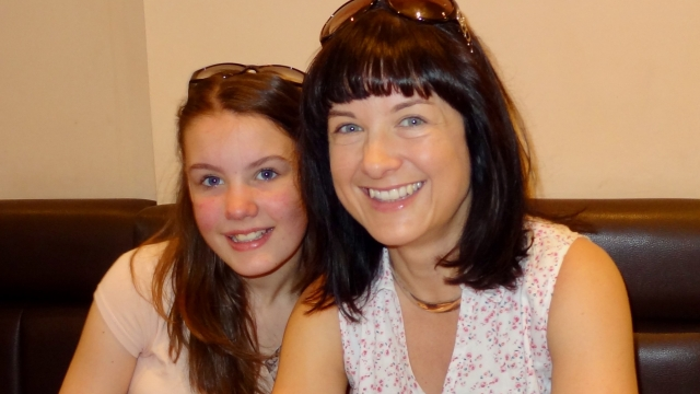 Ruth Moss with her daughter Sophie Parkinson (Photo: Ruth Moss)