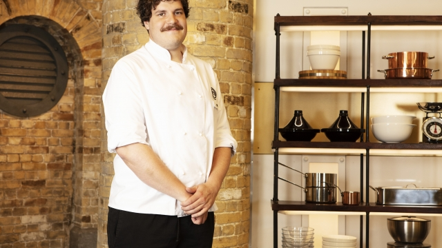 Yann Florio is one of the MasterChef: The Professionals finalists