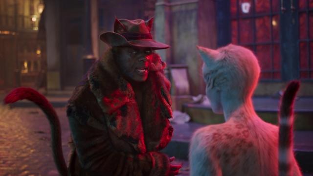 Article thumbnail: Idris Elba as Macavity and Francesca Hayward as Victoria in Tom Hooper's Cats