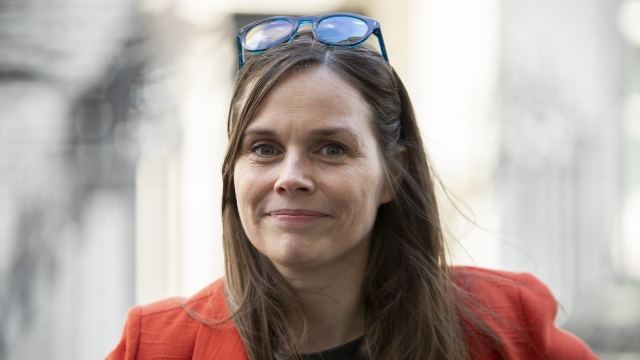 Article thumbnail: Iceland tops the table for closing the gender gap and leads the way politically with female Prime Minister Katrin Jakobdottir