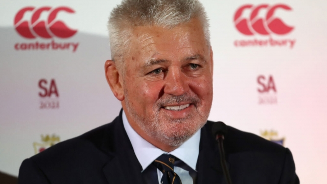 Warren Gatland at the British and Irish Lions Head Coach Announcement on 12 June 2019 (Getty Images)
