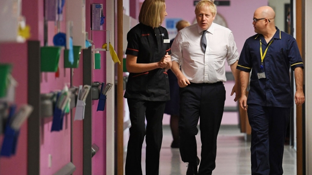 Prime Minister Boris Johnson will place the NHS at the heart of his domestic agenda (Photo by Daniel Leal-Olivas - WPA Pool/Getty Images)