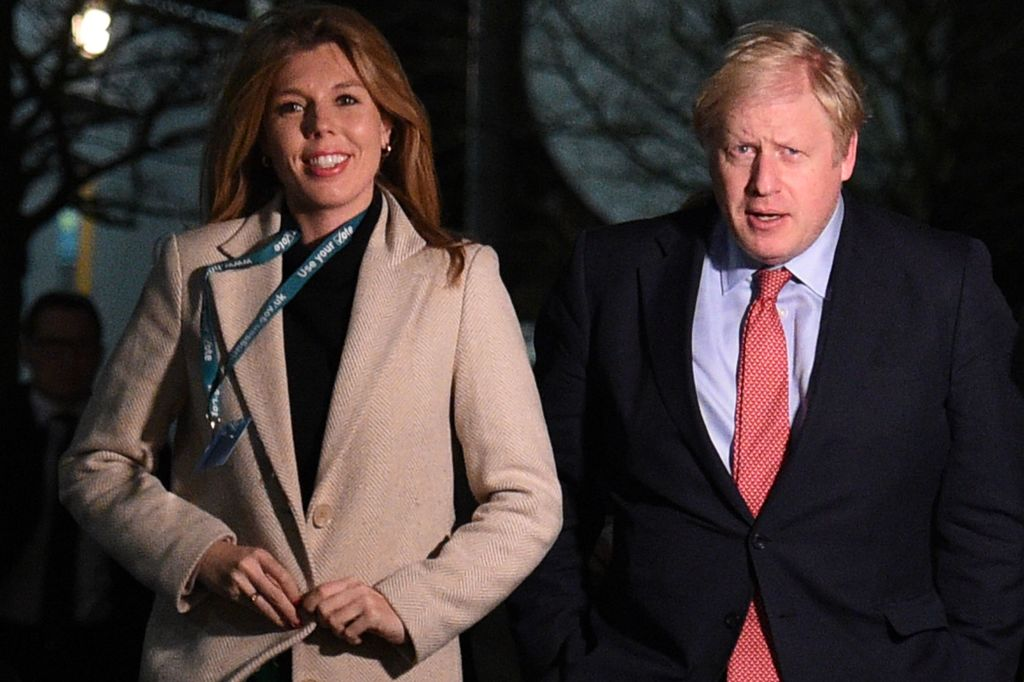 Boris Johnson and Carrie Symonds jetted off to the exclusive island Mustique, before Christmas (Getty Images)