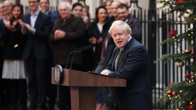 Boris Johnson hopes that a stable government will give a bruised nation time to heal and unite