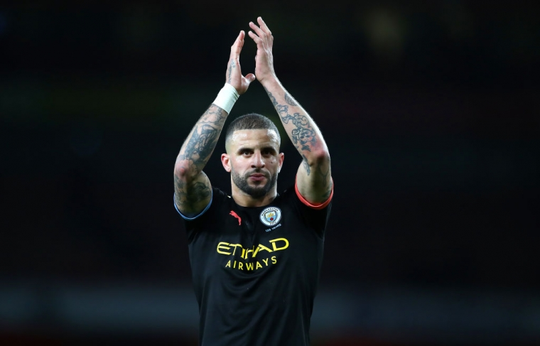 Kyle Walker is one of those currently isolating (Getty Images)