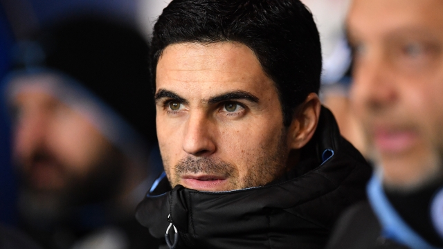Mikel Arteta is set to become Arsenal's new manager on Friday but he is only expected to watch from the Goodison Park stands