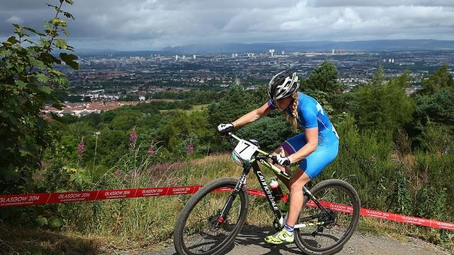 Lee Craigie is a former professional mountain bike rider (Photo: Getty)
