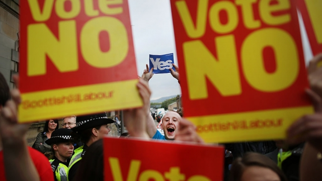 Labour may yet support the SNP's call for indyref2 (Photo: Getty)