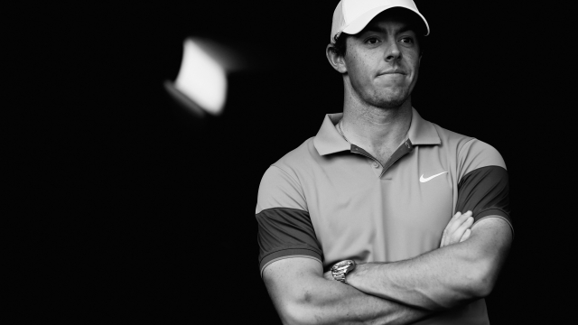 Rory McIlroy during the 2015 HSBC Champions tournament in Abu Dhabi