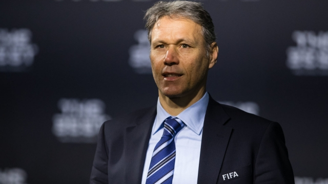 Marco van Basten of the Netherlands arrives for The Best FIFA Football Awards 2016