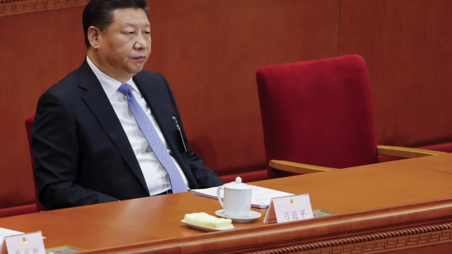 The magazine removed a reference to Chinese President Xi Jinping