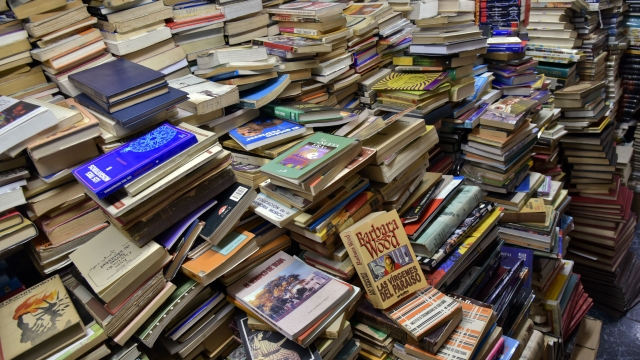 Pile up: could 2020 be the year when you finally get round to reading all those books you've bought? (Photo: Getty Images)
