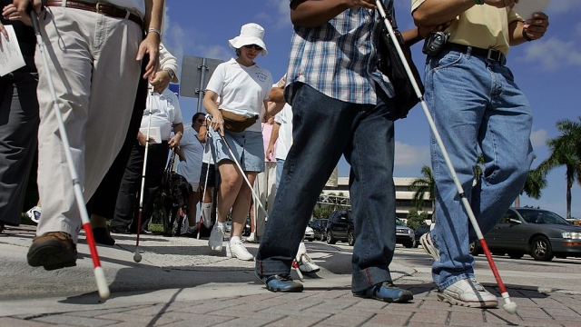 Al fresco spaces have been welcomed - but could come at a cost for disabled pedestrians and participants (Photo: Joe Raedle/Getty Images)