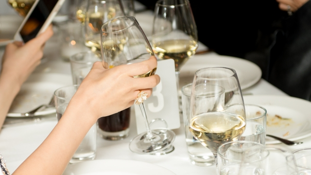 After a while and as you drink more, it ultimately suppresses some brain activity and slows down your heart and breathing (Photo by Noam Galai/Getty Images for NYCWFF)