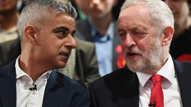Sadiq Khan and Boris Johnson