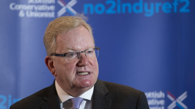Jackson Carlaw was forced to defend the UK Government's record of cuts to public services over the past decade