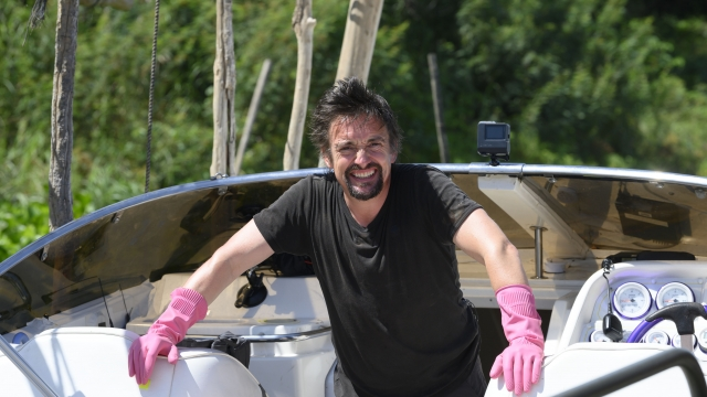 Richard Hammond survived a monsoon in The Grand Tour's Asian expedition