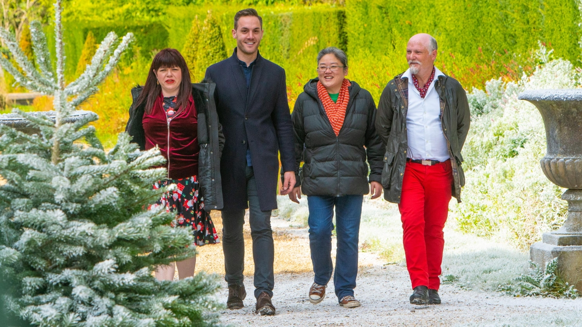 The Great Christmas Bake Off 2019 line up: cast of