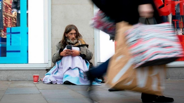Article thumbnail: The helpline has taken thousands of calls from mentally ill homeless people