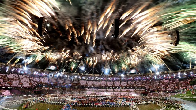 London 2012's opening ceremony was one of the many moments to celebrate during the past decade