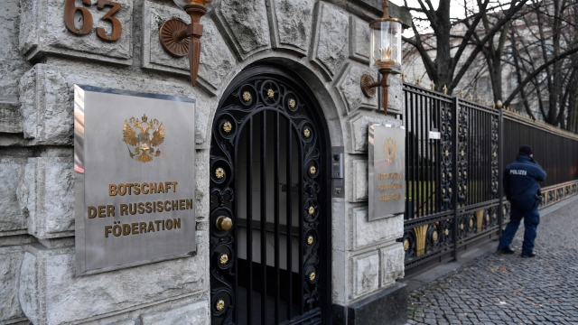 """Germany expelled two unnamed Russian diplomats, saying there were """"enough indications"""" that Russia was responsible for the death of Tornike K"""