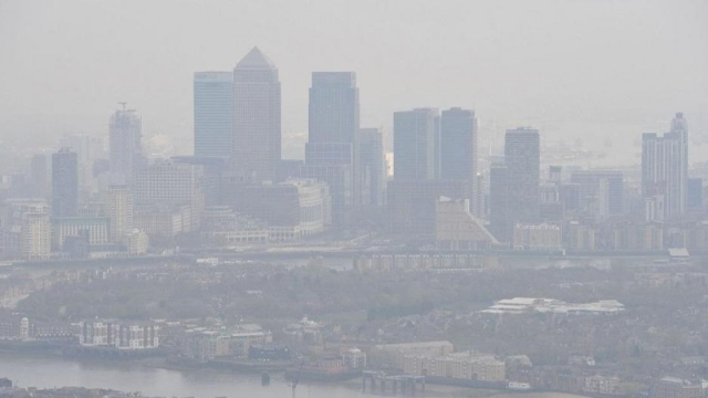 Researchers from University College London reviewed nine studies analysing the link between emissions and mental health (Photo: Nick Ansell/PA)