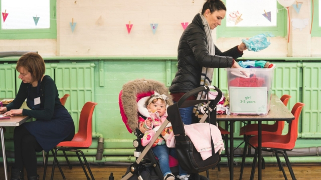 Little Village baby banks are based in London (Pic: supplied)