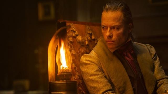 Guy Pearce as Ebenezer Scrooge in A Christmas Carol (Photo: BBC)